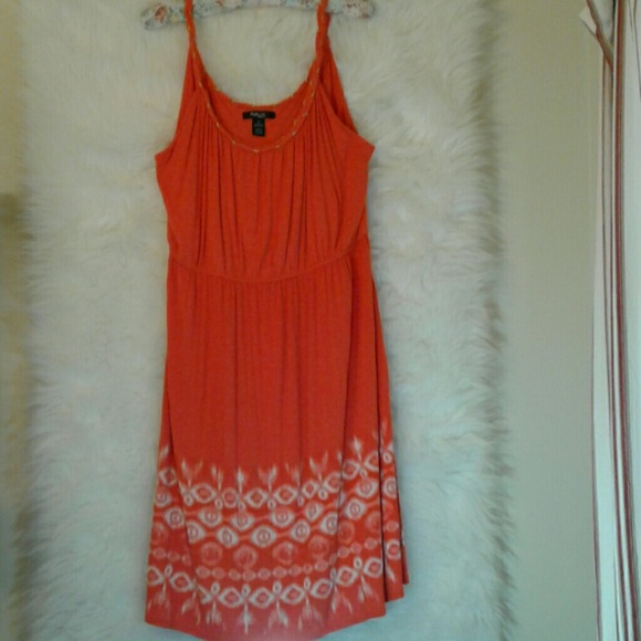 ef41cc29fd Style & Co Dresses   Style Co Woman Cotton Print Tank Dress   Poshmark